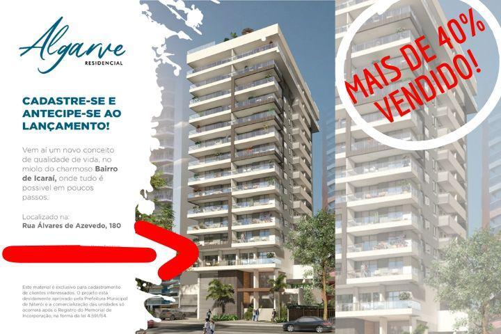 Novo lançamento em icaraí niterói apartamentos de 2 e 3