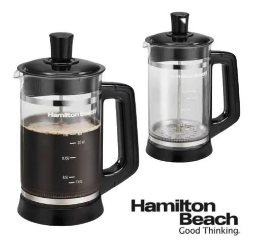 Prensa francesa cafeteira hamilton beach 40400r café chá