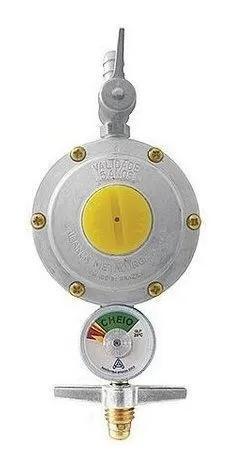 Regulador para gás 506/01 indicador de pressão