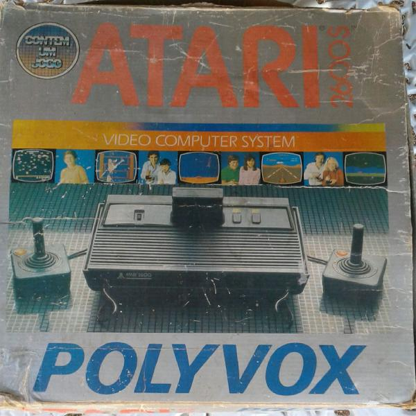 Vídeo game atari original anos 80