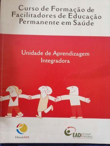 Vendem-se livros curso de formaçao em saúde integradora e