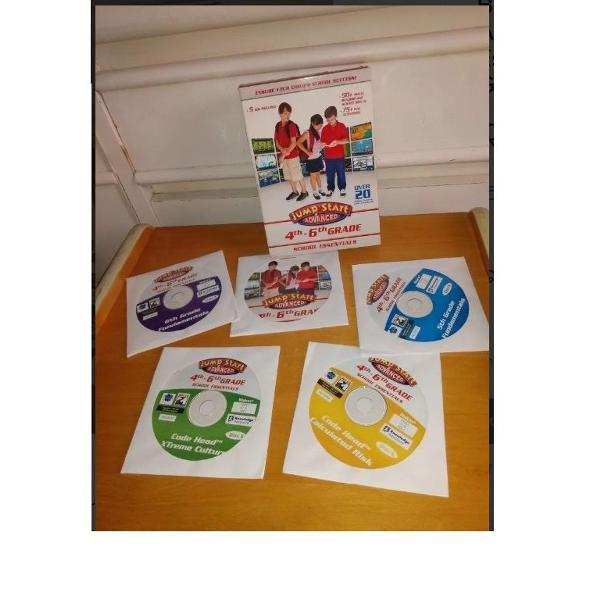 Box cd jump start advances school essentials 4th-6th grade