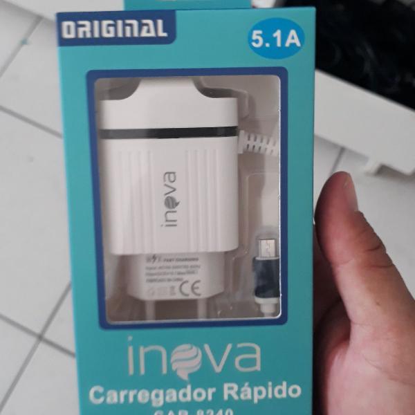 Carregador de celular 5.1a inova imperdível
