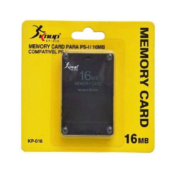 Cartão de memória 16mb p/ playstation 2 - memory card ps2