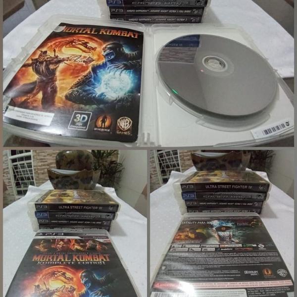 Games jogos ps3 play3 mortal kombat complete edition