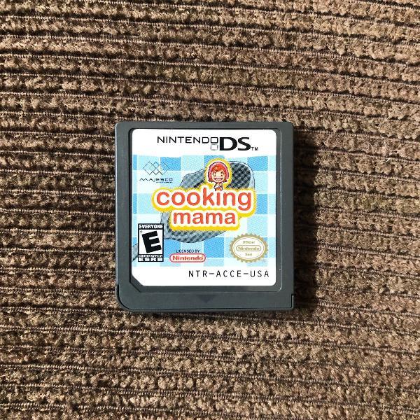 Jogo cooking mama nintendo ds