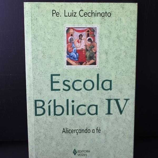 Livro: escola bíblica iv