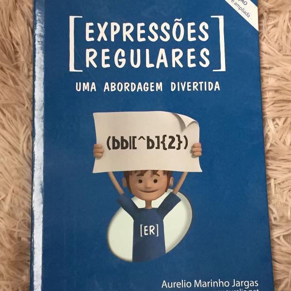 Livro expressões regulares