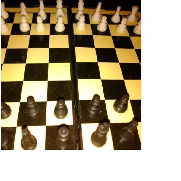 Mini jogo de xadrez!