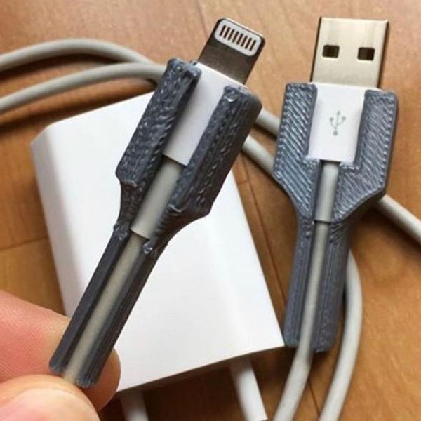 Protetor de cabo lightning iphone apple