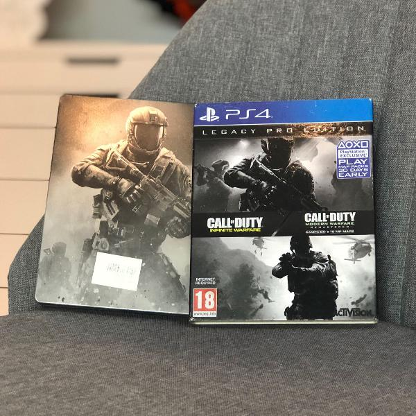 Ps4 call of duty infinite warfare legacy pro edition