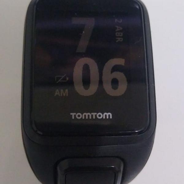 Relógio tom tom gps