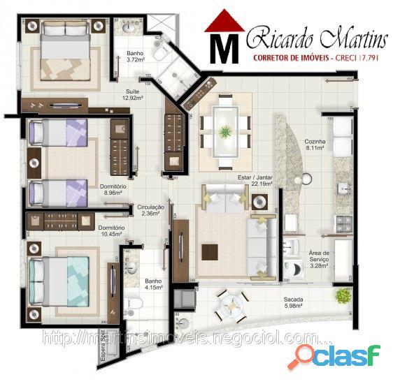 Varenna apartamento a venda centro criciúma