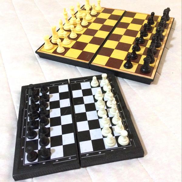 Xeque-mate (dois jogos de xadrez)