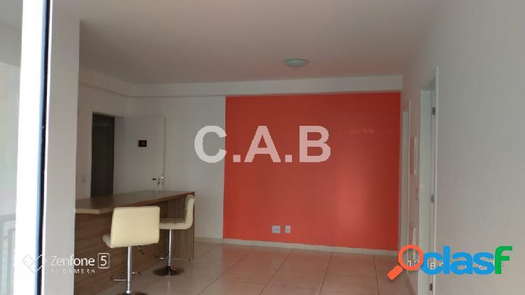 Apartamento semi mobiliado p/ locação e venda alpha park
