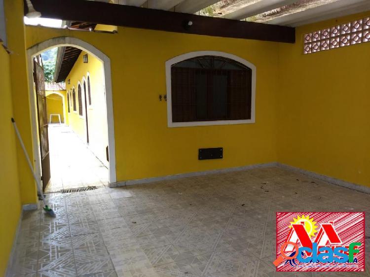 Casa 2dormitórios 1suite em mongaguá a 650mts da praia na mendes casas