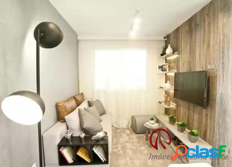Apartamento 2 dorms, 40m², vaga - itaquera - fase ii