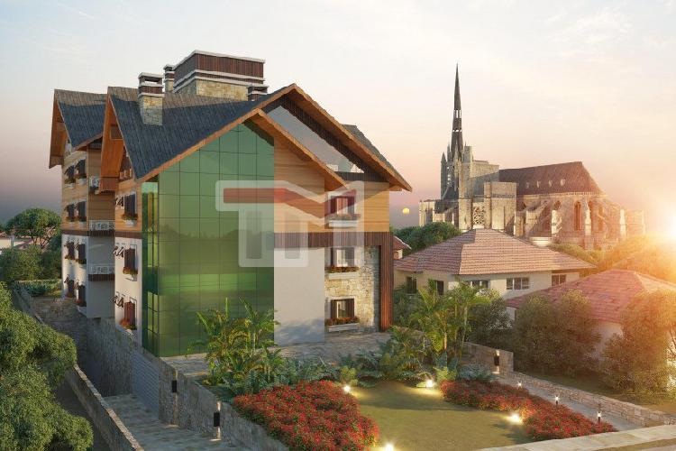 Apartamento alto padrão para venda em centro canela-rs -