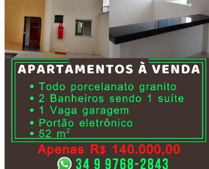 Apartamentos novos excelente local