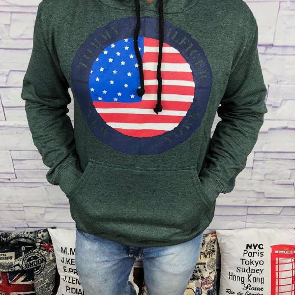 Blusa de frio tommy hilfiger - verde