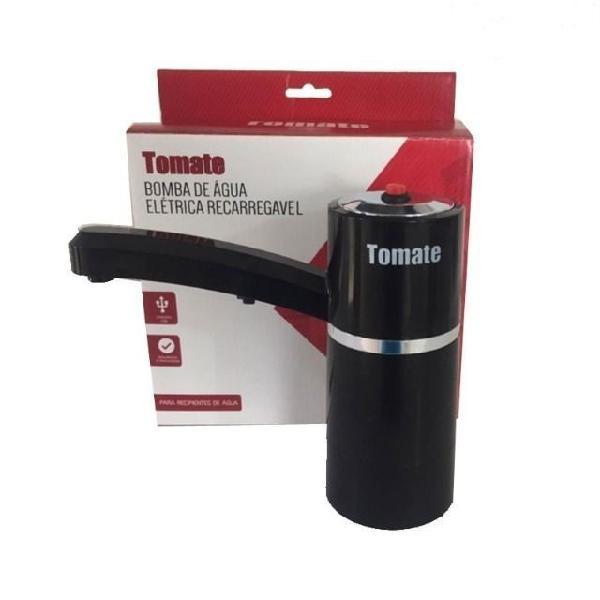 Bomba de água elétrica recarregável - tomate mct 001