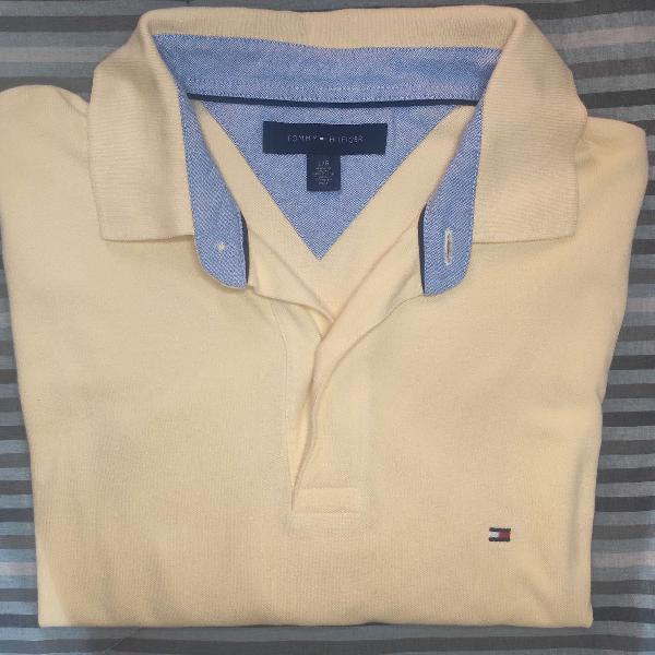 Camisa tommy hilfiger polo/amarela