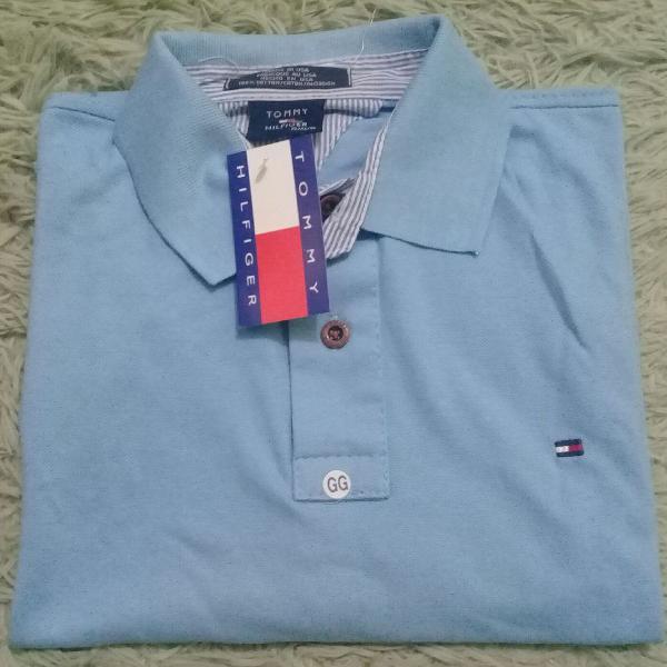 Kit 2 camisas gola polo - tommy hilfiger