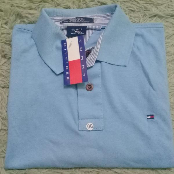 Kit 3 camisas gola polo - tommy hilfiger