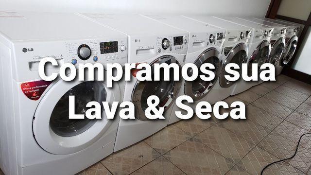 Lava e seca lg samsung e electrolux com ou sem defeitos