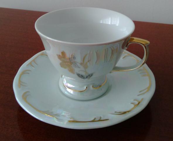 Xícara/pires café / chá porcelana