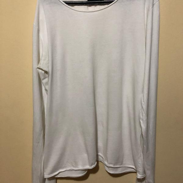 Camisa manga longa zara - tamanho m