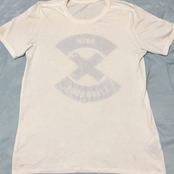 Camiseta nike x football branca