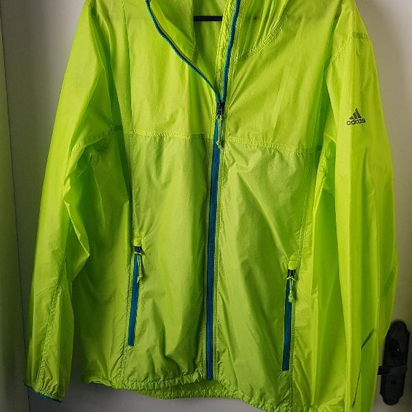 Jaqueta corta vento verde