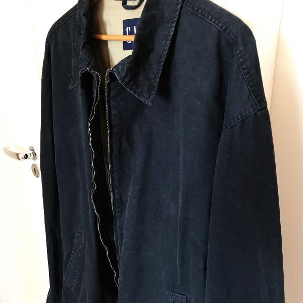 Jaqueta gapa azul marinho