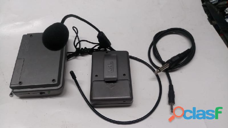 kit microfone sem fio 2