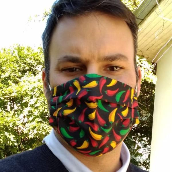 Máscara de algodão