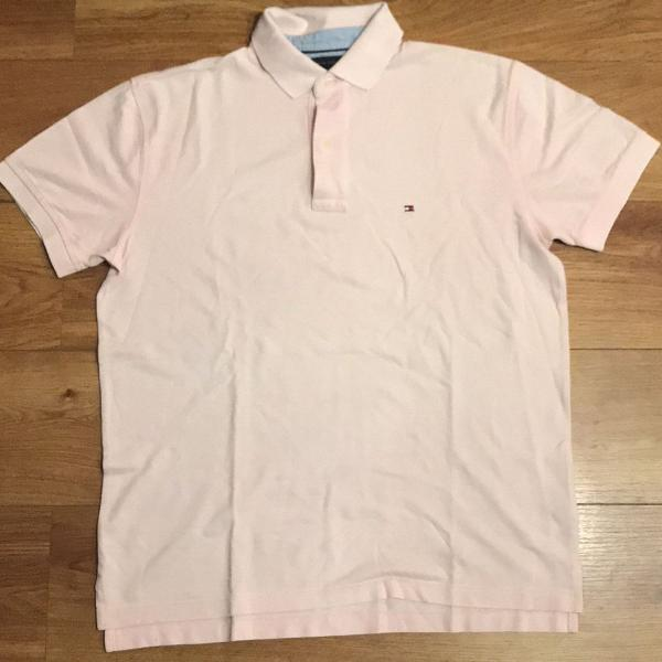 Polo tommy hilfiger rosa - tam g