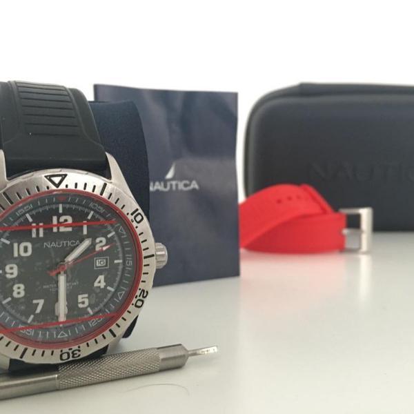 Relógio náutica original com kit