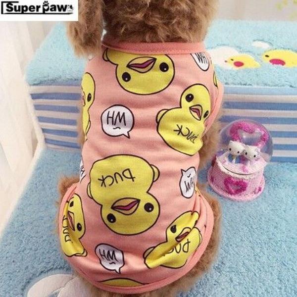 Roupinha pijama para cães fofa