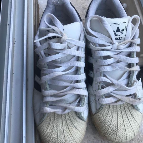 Tenis adidas branco unissex
