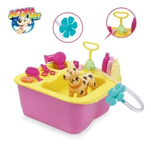 Acqua pet shop brinquedo tosa banho cachorro acquapet xplast