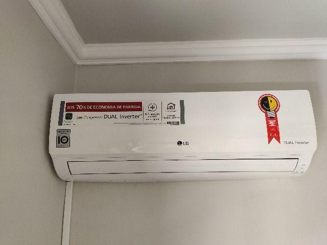 Ar condicionado split inverter 9000 btus lg dual inverter