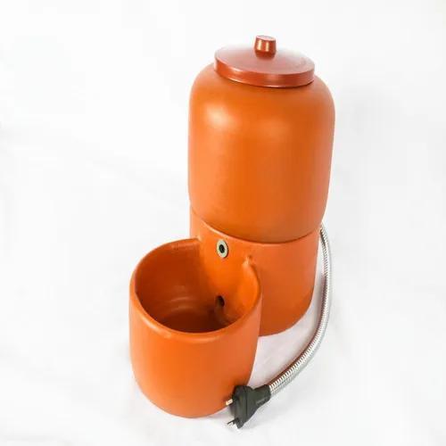 Bebedouro acquapet cerâmica 2.5 l cabo inox 110v p&b