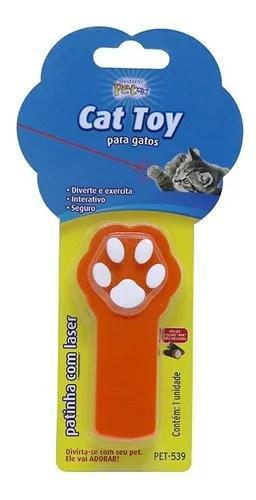 Brinquedo interativo para gatos patinha cat laser divertido
