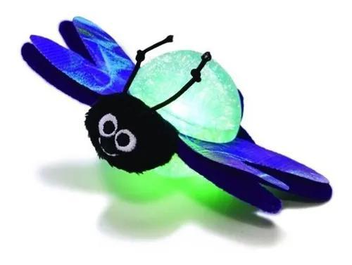 Brinquedo kong bat-a-bout vagalume com luzes para gato