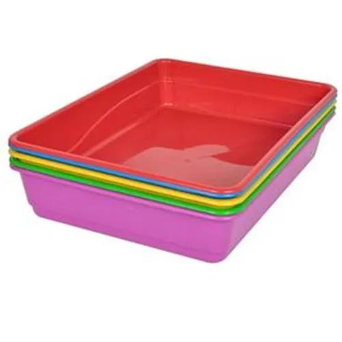 Caixa de areia para gato bandeja grande higiênica 01