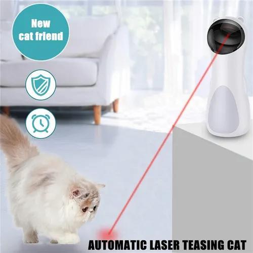 Caneta de brinquedo automática para gatos rotativos