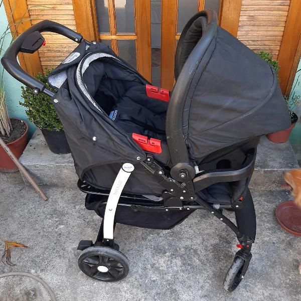 Carrinho de bebê burigotto modulo