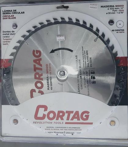 Disco de serra circular 9.1/4 pol. com 48 dentes para