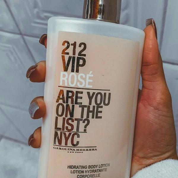 Hidratante 212 vip rosé